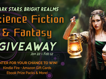 Dark Stars Bright Realms | Science Fiction and Fantasy Giveaway