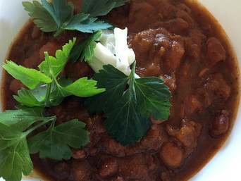 Friday Feast   Crock Pot Chili and a New Book by Nancy Lee Badger