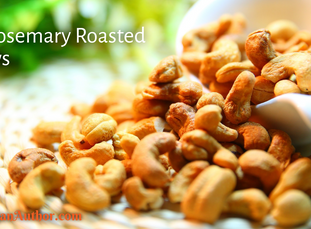 Friday Feast | Spicy Rosemary Roasted Cashews
