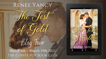 """The Coffee Pot Book Club Presents """"The Test of Gold"""" by Renee Yancy"""