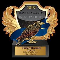 2019 Raven Award_Winner_FantasyRomance_M
