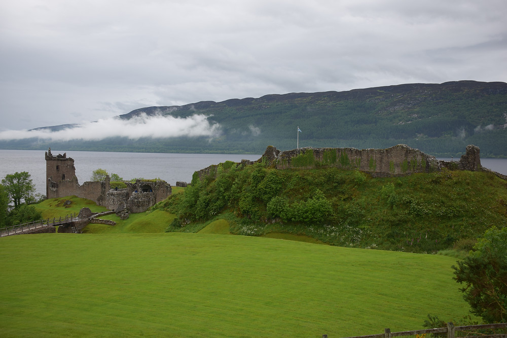 Photo by John Morgan of Urquhart Castle