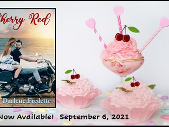 """A Delicious Read with """"Cherry Red"""" by Darlene Fredette"""
