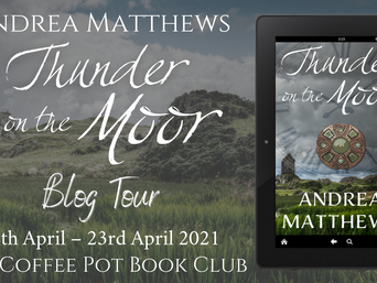 "The Coffee Pot Book Club Presents ""Thunder on the Moor"" by Andrea Matthews"