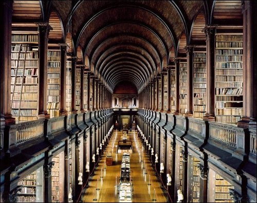 The Long Room (Library) Trinity College, Ireland