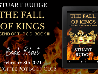 "The Coffee Pot Book Club Presents ""The Fall of Kings"" by Stuart Rudge"