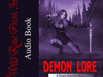 Spotlight New Audio Release   DEMON LORE by Karilyn Bentley