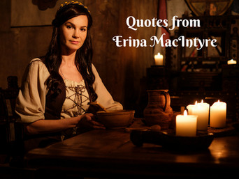 #Quotes from Erina MacIntyre ~ OATH OF A WARRIOR