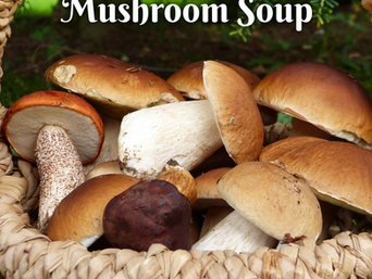 Friday Feast | Entering October with Mushroom Soup