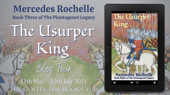"""The Coffee Pot Book Club Presents """"The Usurper King"""" by Mercedes Rochelle"""