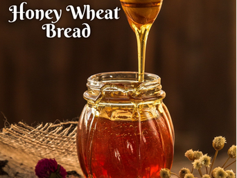 Friday Feast | Honey Wheat Bread