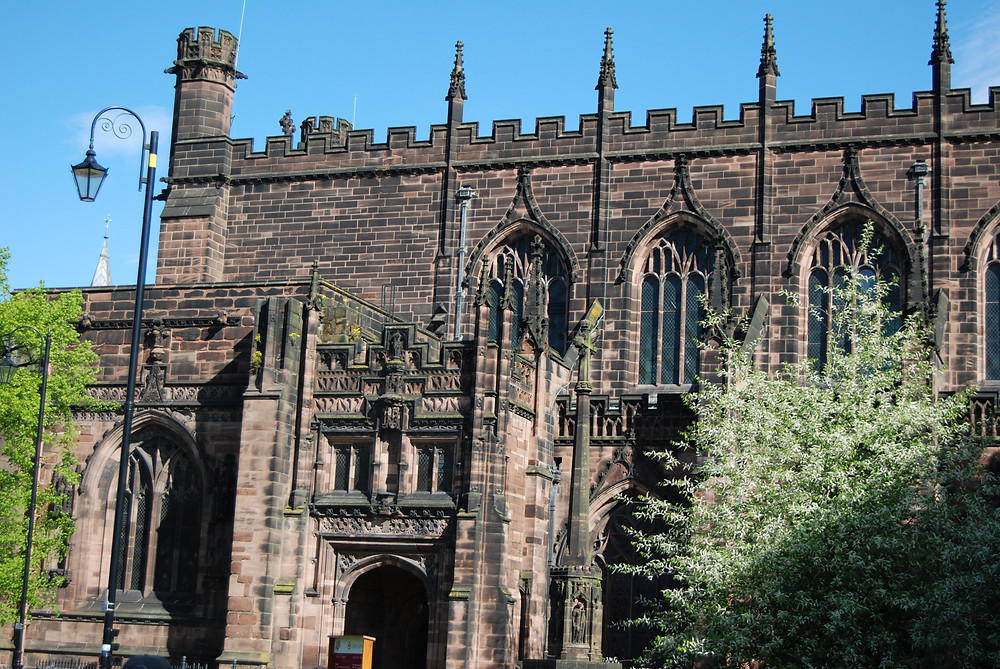 Chester Cathedral, England. Photo by John Morgan