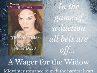 Medieval Monday | A WAGER FOR THE WIDOW by Elisabeth Hobbes