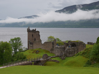 Urquhart Castle ~ Home of the Dragon Knights and #Giveaway
