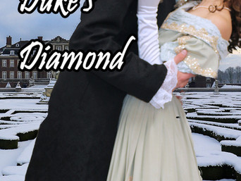 """A Treasure Hunt from England to Gretna Green in """"The Duke's Diamond"""" by Nancy Lee Badger"""