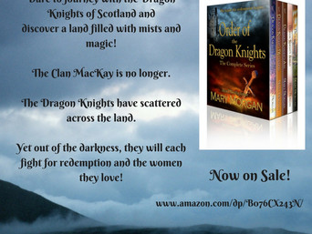 #NewRelease ORDER OF THE DRAGON KNIGHTS Boxed Digital Collection #TimeTravel #ParanormalRomance