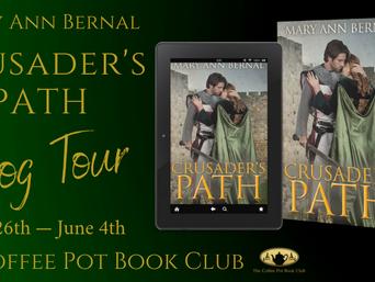 "The Coffee Pot Book Club Presents ""Crusader's Path"" by Mary Ann Bernal"
