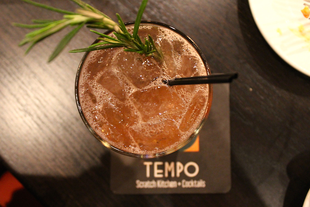 DRINKmaple cocktal at Tempo Kitchen + Cocktails