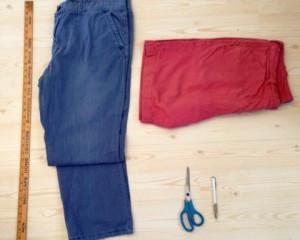 DIY: Chinos to Shorts