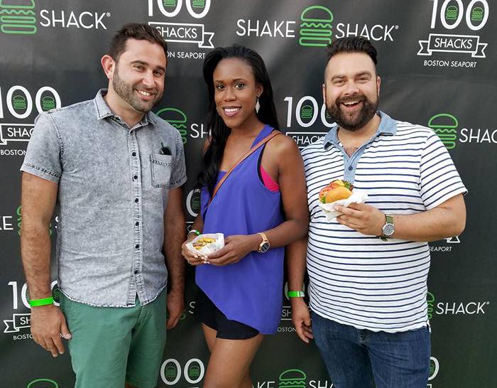 Boston Blogger Matthew Simko Shake Shack Seaport