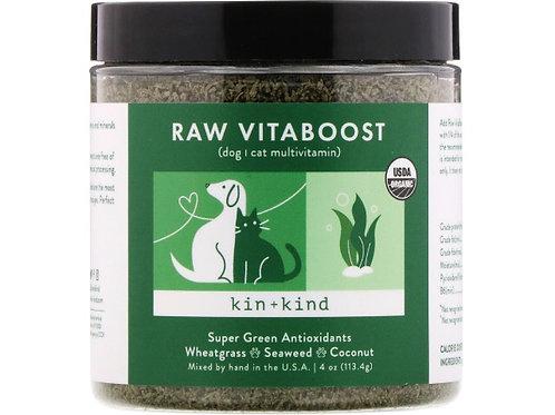Kin+Kind Raw VitaBoost, Antioxydants Super Green, 113,4 g