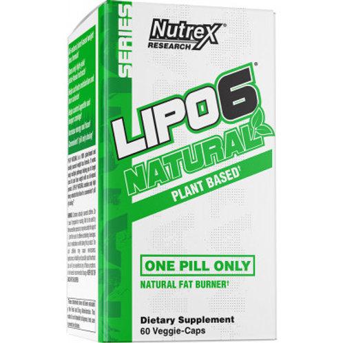 Nutrex Lipo-6 Natural 60 Veggie-Caps