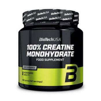 BioTech USA 100% Micronized Creatine Monohydrate 500g
