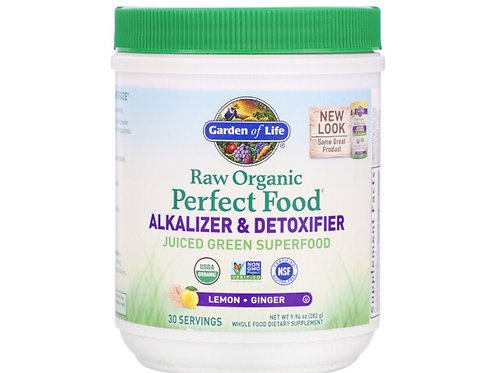 Garden of Life RAW Organic, Perfect Food, Alkalizer & Detoxifier 30 services