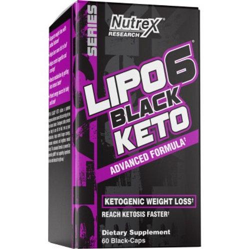 Nutrex Lipo 6 Black Keto 60 capsules 30 services