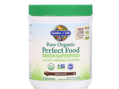 Garden of Life RAW Organic, PGreen Superfood, Chocolate, 30 services