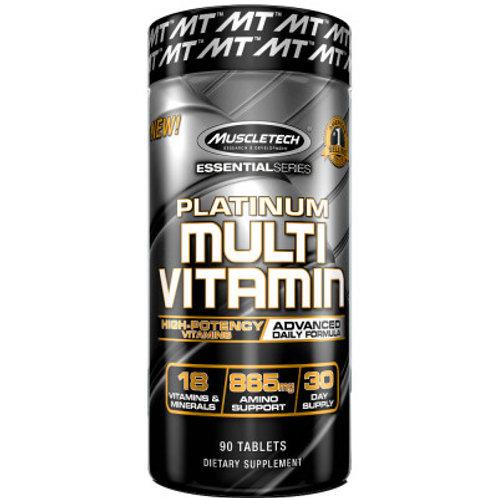 MuscleTech Platinum Multivitamin 90 Tablettes