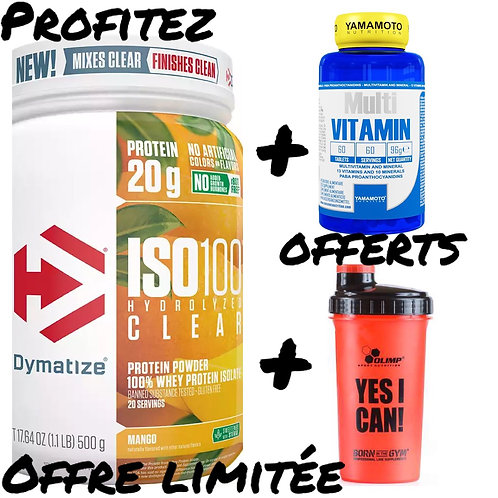 Dymatize ISO100 Clear 20 services