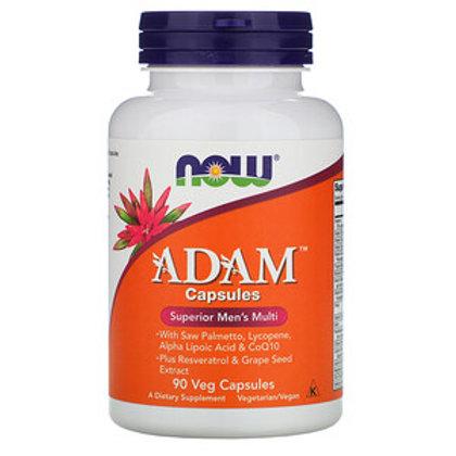 Now Foods, ADAM, Complément multivitaminé supérieur pour hommes, 90 capsules