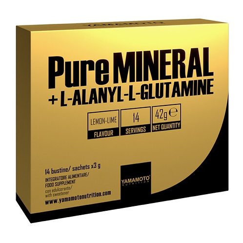 Yamamoto Pure MINEAL + L-Alanyl-L-Glutamine 14 services en sachets 42g