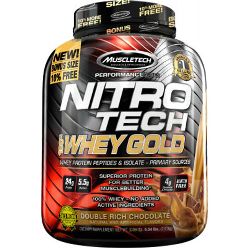 MuscleTech Nitro-Tech 100% Whey Gold 2500g