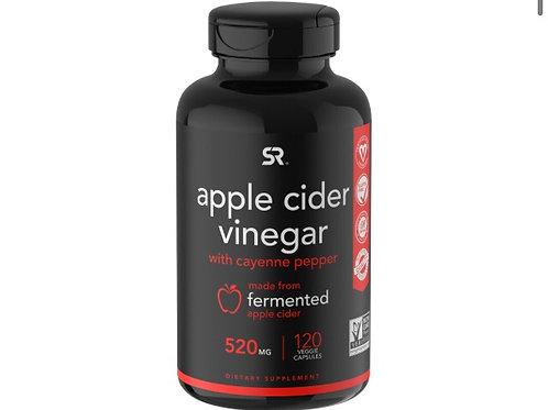 Sports Research Vinaigre de cidre de pomme au poivre de Caye