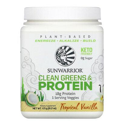 Sunwarrior, Clean Greens & Protein 175g