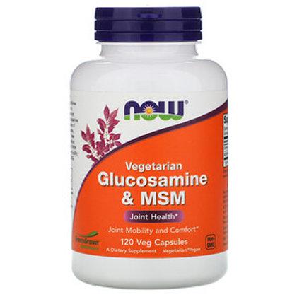 Now Food's Glucosamin & MSM 120 Veg Caps