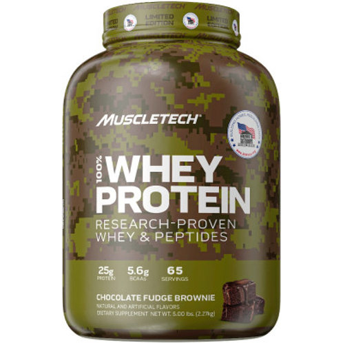 MuscleTech 100% Whey Homes for Our Troops Limited Edition