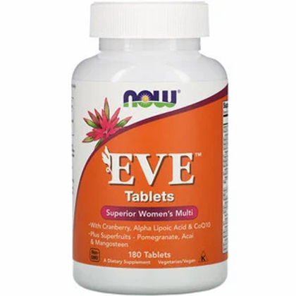 Now Foods EVE multi-vitamines pour femmes 180 pastilles