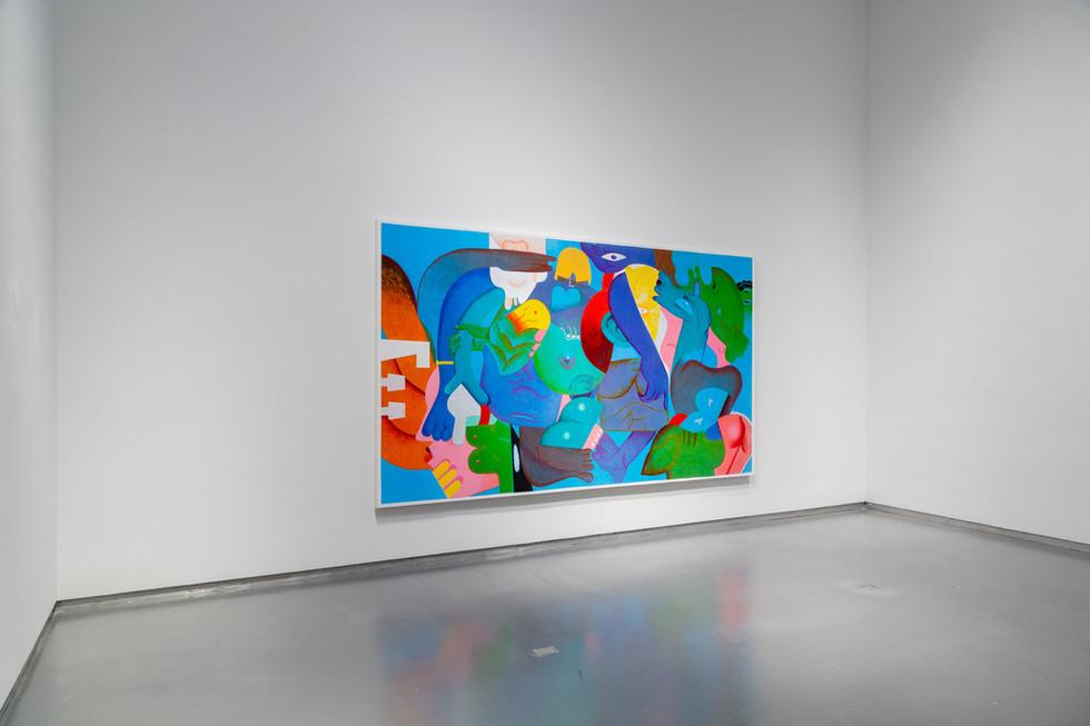 Lather, Thierry Goldberg, 2021, installation details, first floor.