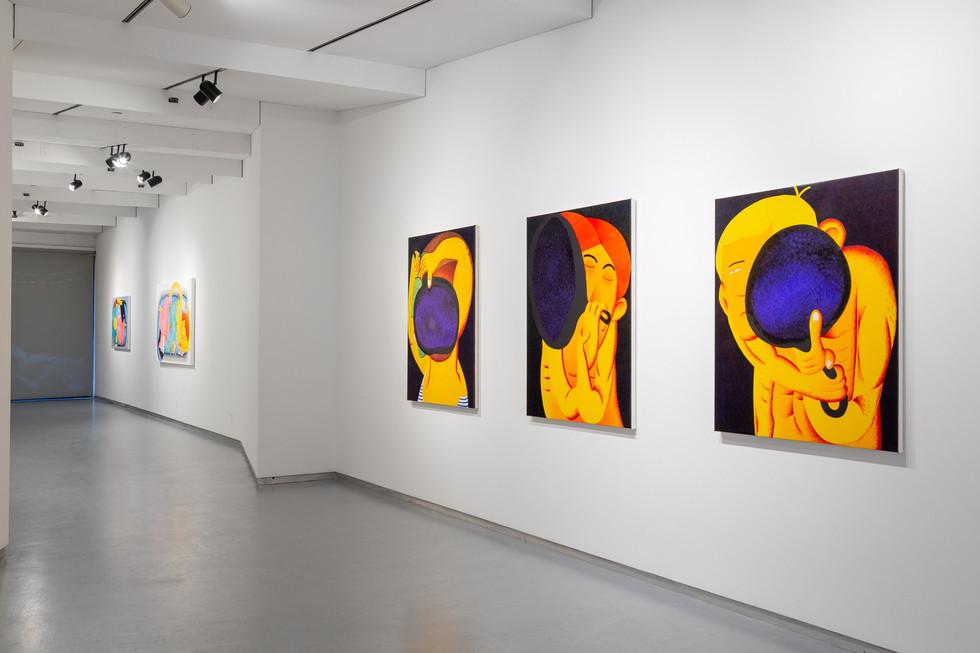 Lather, Thierry Goldberg, 2021, installation details, second floor.