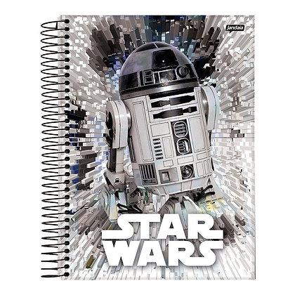 Caderno Star Wars R2D2 96fls