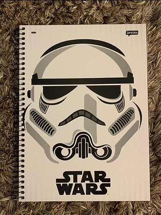 Caderno Star Wars Jandaia Clone 96fls