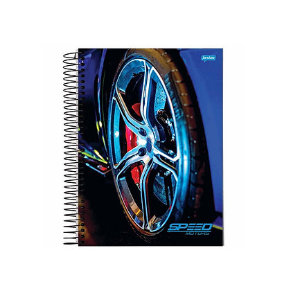 Caderno Speed Motors Jandaia 4 80fls