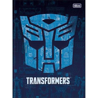 Caderno Transformers Tilibra Espiral 80fls