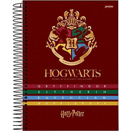 Caderno Harry Potter Hogwarts Jandaia 96fls