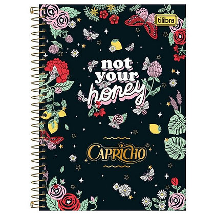 Caderno Capricho Not Your Honey Tilibra 80fls