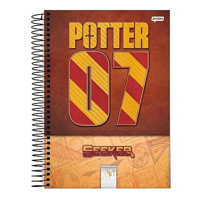 Caderno Harry Potter 07 Jandaia 96fls