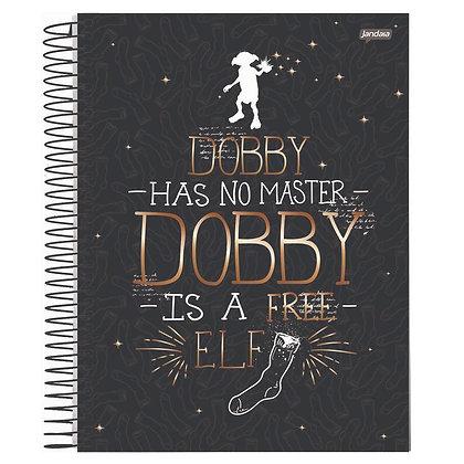 Caderno Harry Potter Dobby Jandaia 96fls